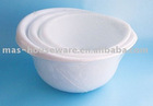 MH00675 3PC BOWL SET 12SET/0.08CBM