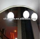 PE shell led ceiling ball light