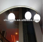 PE shell led ceiling ball light