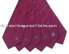 italy silk woven logo necktie