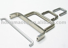 Stainless steel furniture handle nickel plated parts
