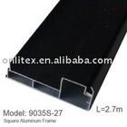 Aluminum Frame for LED Display Screen, Length 2.7 meter, Black color,6pcs/Box
