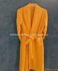 Lady's Elegant Coral Fleece Bathrobe