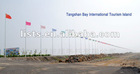 Beijing Tangshan Seaport Development Zone, 16m flag pole in total of 488