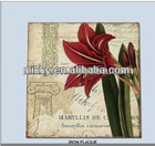 metal wall wholesale, metal red flower wall art minds