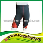 Neoprene exercise shorts
