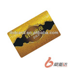 Plastic Contact Mifare 1K Smart Card With Signature Panel