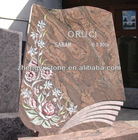 Red granites Upright Tombstones