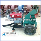 wood chipper/sawdust machine with diesel device