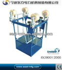 1 /1.5KN Two line conductor cart aluminium alloy single conductor line inspection trolleys