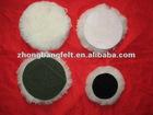 wool pad,lambskin wool pad,buffing pad