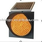 LED solar traffic light