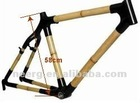 Eco Friendly Bamboo Bicycle Frame 56-63cm