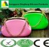 2013 hot sale luxury silicone handbag for ladies