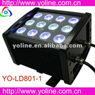 newest YO-LD801-3 12*3W RGB 3 in 1 LED professional lighting