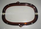 semi-circle acrylic clutch purse frame wholesale
