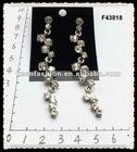 alloy diamond fashion earrings F43818