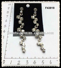 alloy diamond fashion earrings F43818