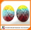 rainbow flaback resin beads