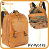 new style 100% genuine leather laptop backpack bag
