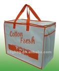 130gsm non woven zipper bag for Quilt bag
