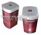 Tea Tin Box / Abnormal Shape / Full Color Print
