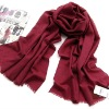Wine Red Newest Pretty Hot design Wine red Graceful Fashion Polyester Scarves