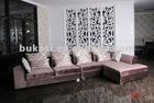 2012 modern furniture fabric corner sofa C431