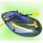 floating inflatable canoe