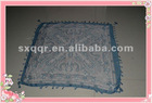 2012 new fashion voile scarf with handwork