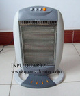 Halogen heater with three heating tube
