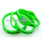 2011 hot sale green power band for promotional gift