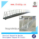 type A/B marine mooring aluminm wharf ladder with BV