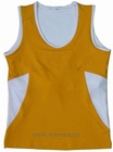 Ladies function sleeveless knitted yoga wear