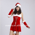 2011 SEX red Chinese traditional Christmas clothes dresses