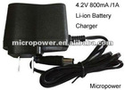 4.2V 800mA Li-Ion Battery Charger