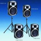 Powerful Active speaker cabinet Aluminum PS Series