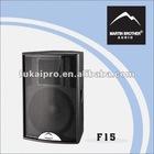 2-way full range pro loudspeaker F15