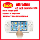 4.3inch touch screen ultrathin video game player game console