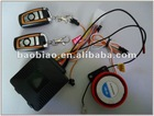 Anti-cutting wire motorcycle vibration alarm