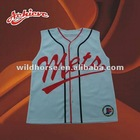 sublimation printed polyester baseball jerseys shirt
