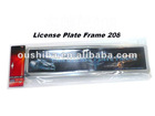 PP Bag Packing Mid-East Style Car Number Plate Frame