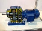 Helical speed reducer