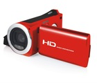 Hot sale,8MP8X zoom 2.7''TFT LCD new red digital video camera,professional digital video camera