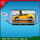bluetooth touch screen car mirror with USB&SD,bluetooth and MP5