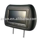7'' car headrest LCD touchscreen monitor