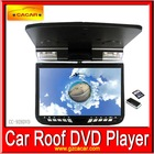 New 9 Inch Roof Mounted Car DVD Player with DVD/MP3/Mp4/IR/FM/USB/SD