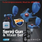 Paint Mixer and spray gun
