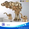 new design/ classic / water tap / gold-plated wash basin water tap