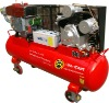 15HP Diesel Engine 250PSI 450L belt drivenair compressor